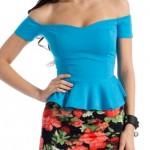Peplum Bluz Modelleri