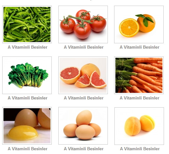 A Vitaminini Ne İşe Yarar