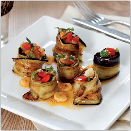 Sebzeli Patlıcan Sarması