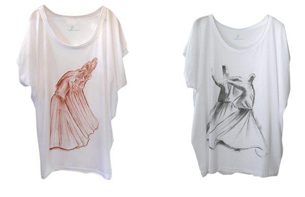 Semazen temalı tişört koleksiyonu