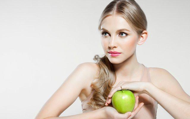 elma-diyet-kadin