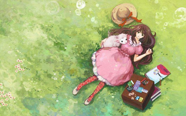 mutlu-kiz-anime