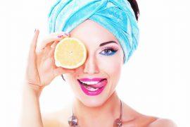 Limonla cilt bakımı için 5 kolay yöntem